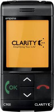 Elderly cell phones ClarityLife C900