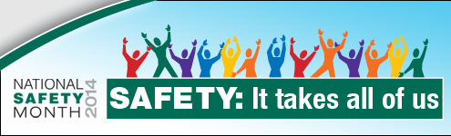 June is National Home Safety Month